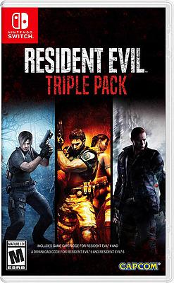 Einfach und sicher online bestellen: Resident Evil Triple Pack (US-Import) in Österreich kaufen.