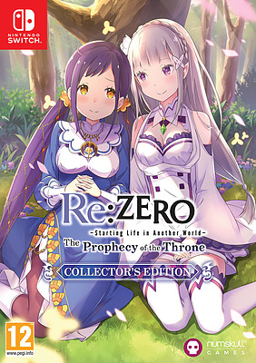 Einfach und sicher online bestellen: Re:ZERO The Prophecy of the Throne Collectors Edt in Österreich kaufen.