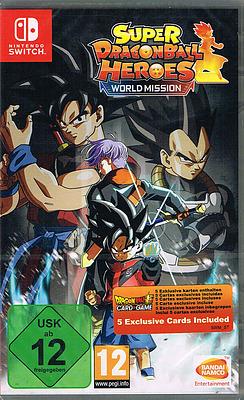 Einfach und sicher online bestellen: Super Dragon Ball Heroes World Mission in Österreich kaufen.