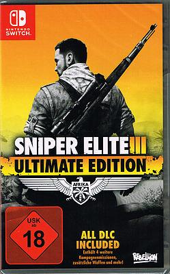 Einfach und sicher online bestellen: Sniper Elite 3 Ultimate Edition in Österreich kaufen.
