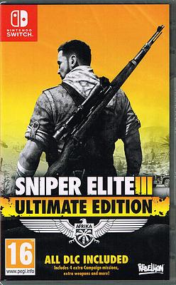 Einfach und sicher online bestellen: Sniper Elite 3 Ultimate Edition (PEGI) in Österreich kaufen.