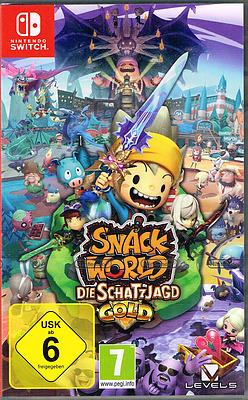Einfach und sicher online bestellen: Snack World: Die Schatzjagd (AT-PEGI) in Österreich kaufen.