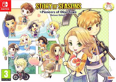Einfach und sicher online bestellen: Story of Seasons: Pioneers of Olive Town Deluxe Ed in Österreich kaufen.