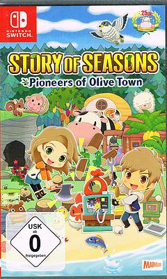 Einfach und sicher online bestellen: Story of Seasons: Pioneers of Olive Town in Österreich kaufen.