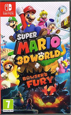 Einfach und sicher online bestellen: Super Mario 3D World + Bowser's Fury (PEGI) in Österreich kaufen.