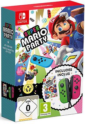Einfach und sicher online bestellen: Super Mario Party + Joy-Con Set (AT-PEGI) in Österreich kaufen.