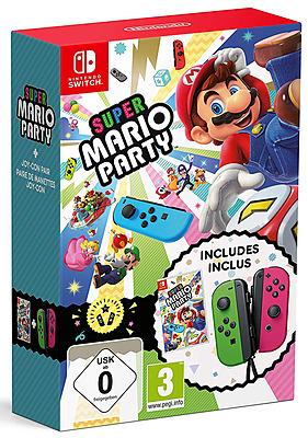 Einfach und sicher online bestellen: Super Mario Party + Joy-Con Set (EU-Import) in Österreich kaufen.