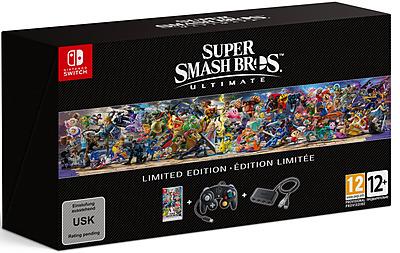 Einfach und sicher online bestellen: Super Smash Bros. Ultimate Limited Edition in Österreich kaufen.