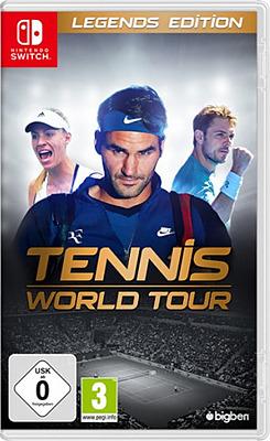 Einfach und sicher online bestellen: Tennis World Tour Legend Edition in Österreich kaufen.