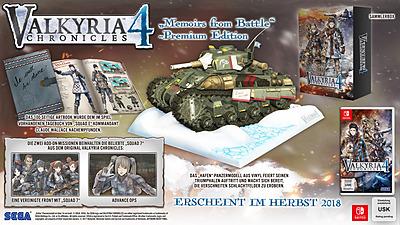 Einfach und sicher online bestellen: Valkyria Chronicles 4 Memories from Battle in Österreich kaufen.