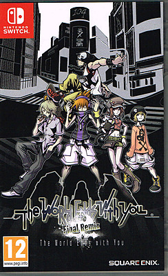 Einfach und sicher online bestellen: The World Ends with You Final Remix (AT-PEGI) in Österreich kaufen.