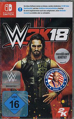 Einfach und sicher online bestellen: WWE 2K18 + DLC  in Österreich kaufen.