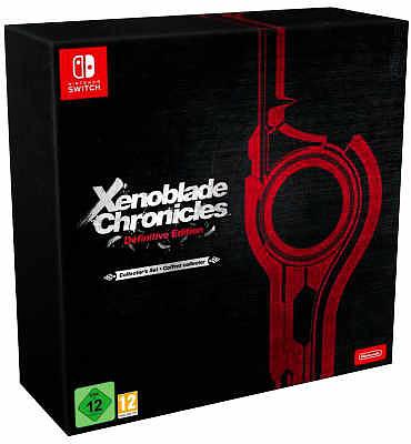 Einfach und sicher online bestellen: Xenoblade Chronicles Definitive Edition Collectors in Österreich kaufen.