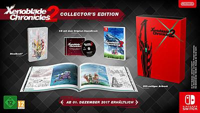 Einfach und sicher online bestellen: Xenoblade Chronicles 2 Collector's Edition in Österreich kaufen.
