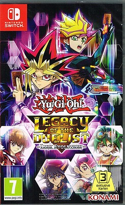 Einfach und sicher online bestellen: Yu-Gi-Oh! Legacy of the Duelist (AT-PEGI) in Österreich kaufen.