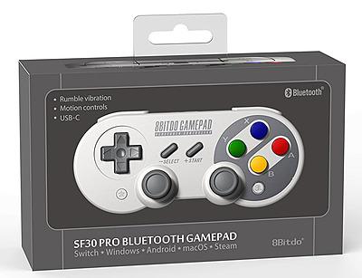 Einfach und sicher online bestellen: 8 Bitdo SF30 PRO Bluetooth Gamepad in Österreich kaufen.
