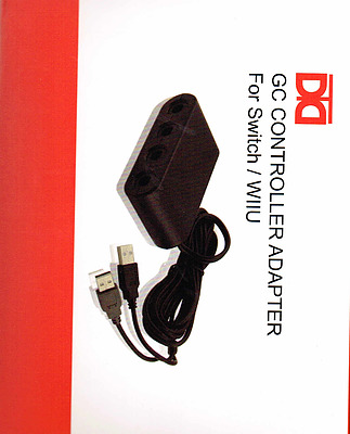Einfach und sicher online bestellen: Nintendo Switch GameCube Controller Adapter in Österreich kaufen.