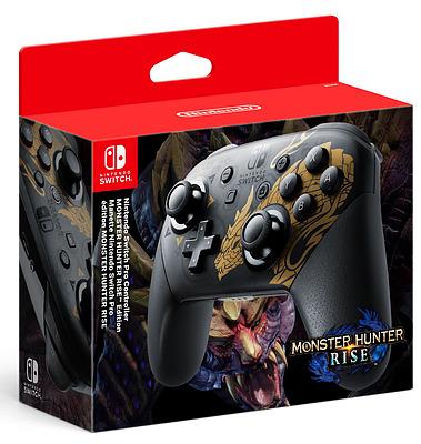 Einfach und sicher online bestellen: Nintendo Switch Pro Controller Monster Hunter in Österreich kaufen.