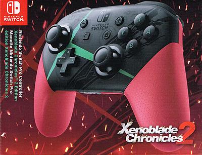 Einfach und sicher online bestellen: Nintendo Switch Pro Controller Xenoblade 2 in Österreich kaufen.