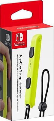 Einfach und sicher online bestellen: Nintendo Switch Handgelenksschlaufe Neon-Gelb in Österreich kaufen.