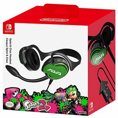 Einfach und sicher online bestellen: Nintendo Switch HORI Headset Splatoon 2 in Österreich kaufen.