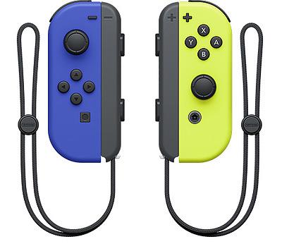 Einfach und sicher online bestellen: Nintendo Switch Joy-Con 2er-Set Blau/Neon Gelb in Österreich kaufen.