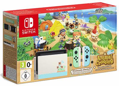 Einfach und sicher online bestellen: Nintendo Switch Animal Crossing New Horizons Ed. in Österreich kaufen.