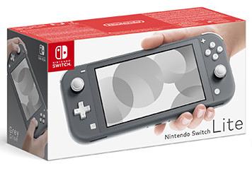 Einfach und sicher online bestellen: Nintendo Switch Lite Grau in Österreich kaufen.
