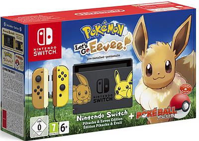 Einfach und sicher online bestellen: Nintendo Switch Evoli + Pokeball in Österreich kaufen.