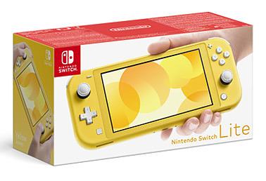 Einfach und sicher online bestellen: Nintendo Switch Light Gelb in Österreich kaufen.