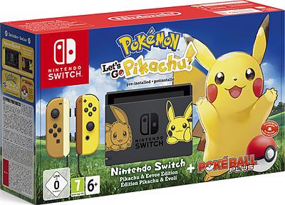 Einfach und sicher online bestellen: Nintendo Switch Pikachu + Pokeball in Österreich kaufen.