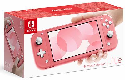 Einfach und sicher online bestellen: Nintendo Switch Lite Koralle in Österreich kaufen.