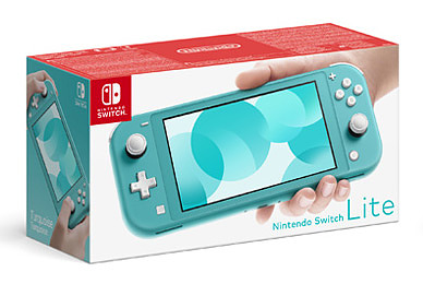 Einfach und sicher online bestellen: Nintendo Switch Light Türkis in Österreich kaufen.