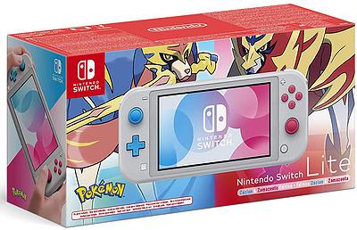 Einfach und sicher online bestellen: Nintendo Switch Light Zacian & Zamazenta Edition in Österreich kaufen.