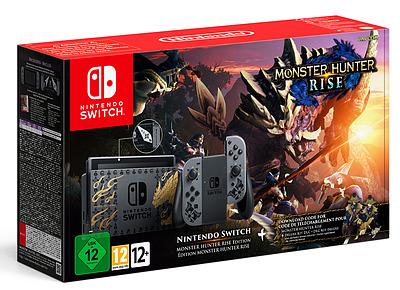 Einfach und sicher online bestellen: Nintendo Switch Monster Hunter Rise Edition in Österreich kaufen.