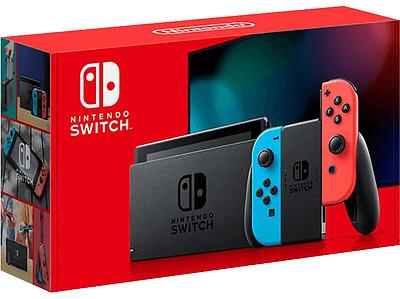 Einfach und sicher online bestellen: Nintendo Switch Neon-Rot/Neon-Blau (neue Version) in Österreich kaufen.