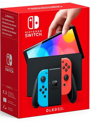 Einfach und sicher online bestellen: Nintendo Switch OLED Neon-Rot / Neon-Blau in Österreich kaufen.