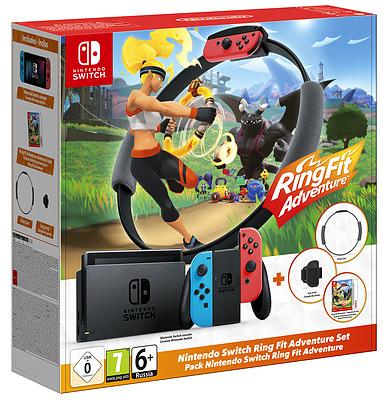Einfach und sicher online bestellen: Nintendo Switch + Ring Fit Adventure-Set in Österreich kaufen.