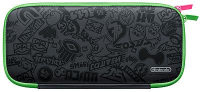 Einfach und sicher online bestellen: Nintendo Switch Tasche und Schutzfolie Splatoon 2 in Österreich kaufen.