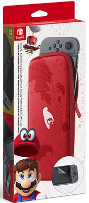 Einfach und sicher online bestellen: Nintendo Switch Tasche Super Mario + Schutzfolie in Österreich kaufen.