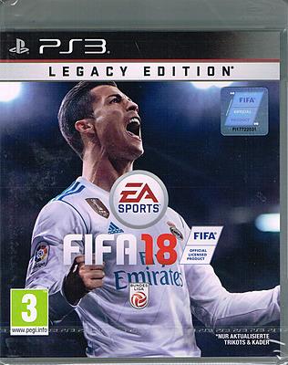 Einfach und sicher online bestellen: FIFA 18 Legacy Edition (AT-PEGI) in Österreich kaufen.