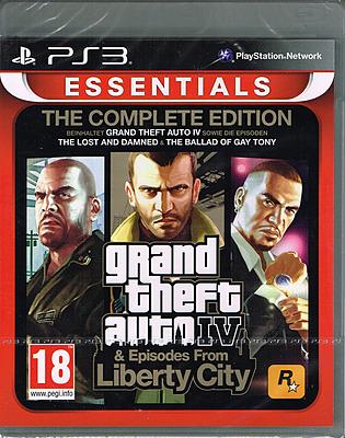 Einfach und sicher online bestellen: Grand Theft Auto IV Complete Edition Essentials in Österreich kaufen.