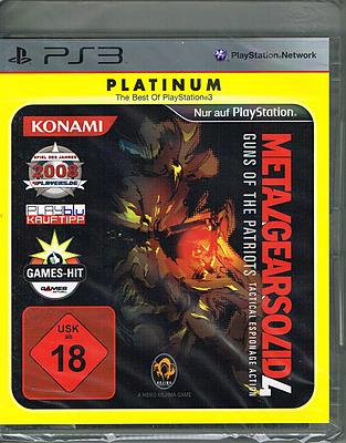 Einfach und sicher online bestellen: Metal Gear Solid 4: Guns of the Patriots Platinum in Österreich kaufen.