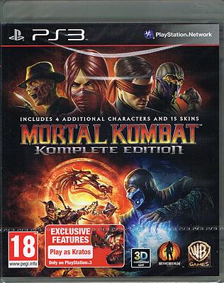 Einfach und sicher online bestellen: Mortal Kombat 2011 Komplete Edition (EU-Import) in Österreich kaufen.