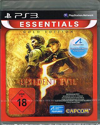 Einfach und sicher online bestellen: Resident Evil 5 Gold Move-Edition Essentials in Österreich kaufen.