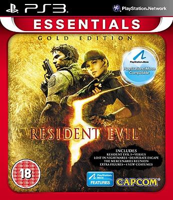 Einfach und sicher online bestellen: Resident Evil 5 Gold Move-Edition Essentials (Eng) in Österreich kaufen.