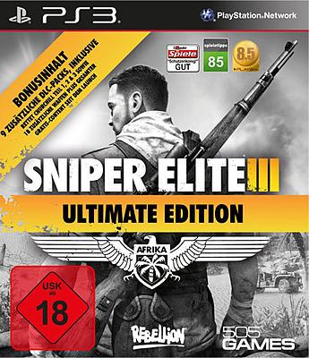 Einfach und sicher online bestellen: Sniper Elite 3 Ultimate Edition + 9 DLCs in Österreich kaufen.