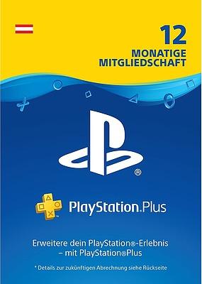 Einfach und sicher online bestellen: PlayStation Plus 12 Monate - Österreich in Österreich kaufen.