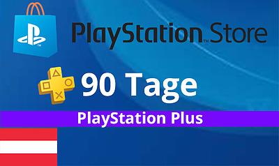 Einfach und sicher online bestellen: PlayStation Plus 90 Tage - Österreich in Österreich kaufen.
