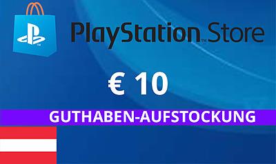 Einfach und sicher online bestellen: PlayStation Store 10 EUR Guthaben (AT) in Österreich kaufen.